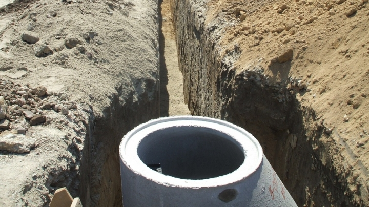 Constructions works on sewage network in Rascani district were finished