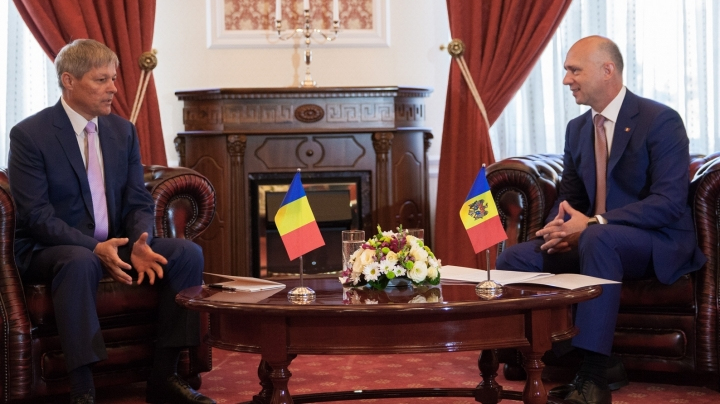 First visit of Romanian prime minister Dacian Ciolos in Moldova