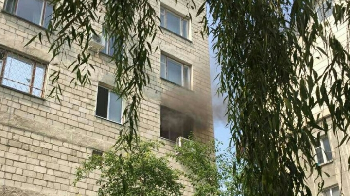 A fire took place in Clinical Hospital of Ministry of Health