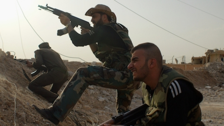 ISIS losing control over key Syrian town