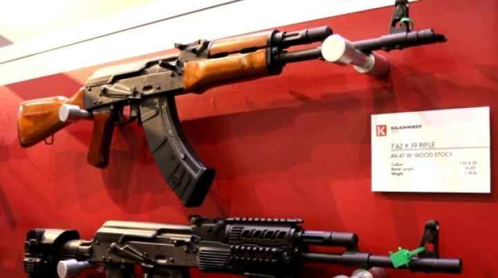 You can buy a Kalashnikov freely in Moscow airport