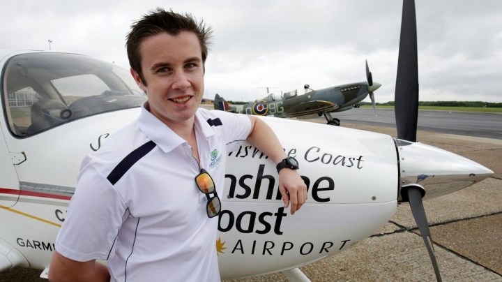 Australian teenager becomes youngest person to fly solo around world in single aircraft