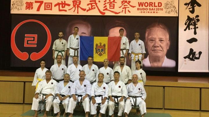 Moldovans amaze world at biggest karate festival on Okinawa