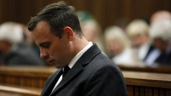 Oscar Pistorius was rushed to hospital to treat injuries on his wrists