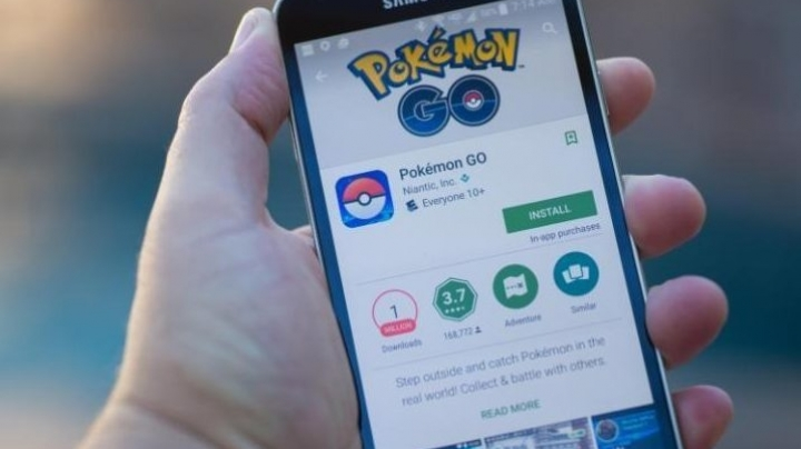 Pokémon Go, not released in Rio