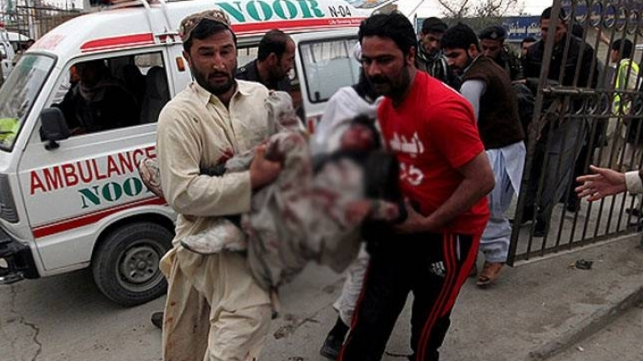 Bomb explosion in Pakistan. 53 reported dead