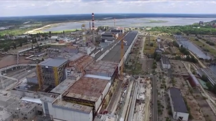 Chernobyl's New Safe Confinement for protection of damaged Reactor 4 is almost finished