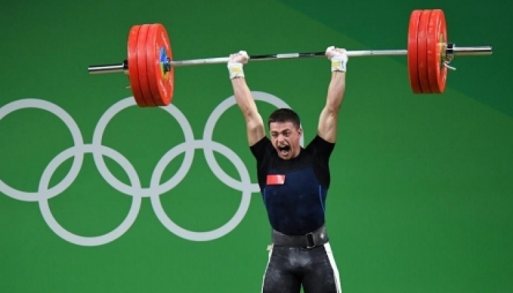 Moldovan weightlifter Alexandru Șpac got the fifth position at the Olympics