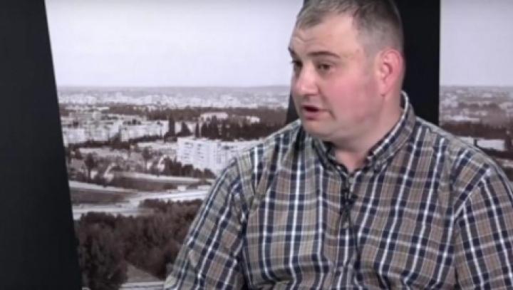 Sergiu Cebotari and godfather made a scene at Police Inspectorate in Nisporeni