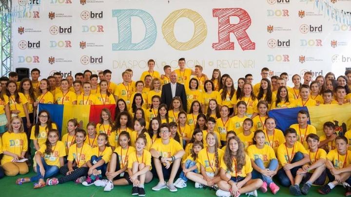 Approximately 100 children from Moldovan Diaspora all around world came to Moldova