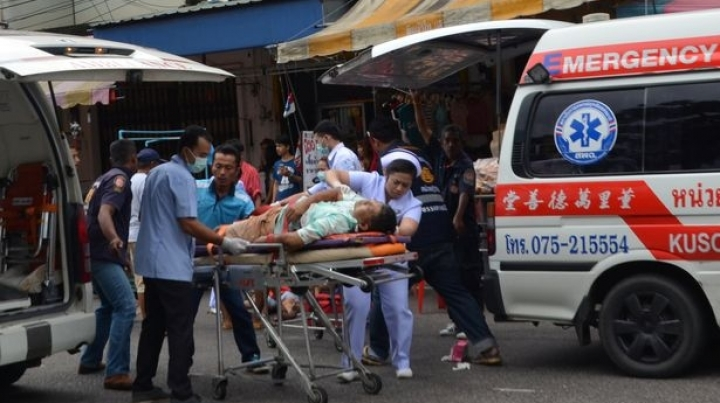 Five provinces in Thailand were rocked by eleven bombs in one day