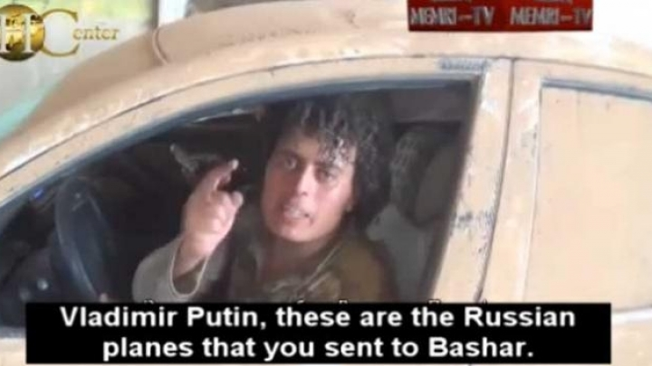 ISIS threatens Russia: 'We'll kill you at your homes'