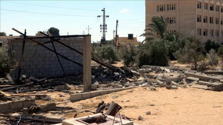 Bomb blast in Egypt's Sinai kills three soldiers, injures one