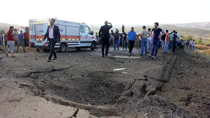 Seven police officers killed in car bombing in southeastern Turkey