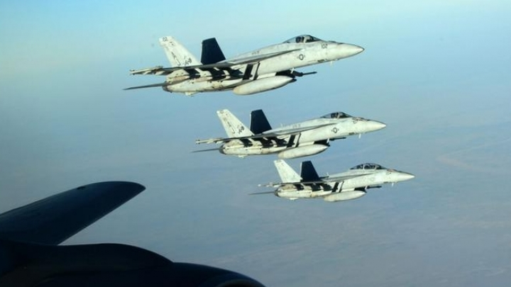 U.S. sends fighter jets to help Kurds against Syrian regime
