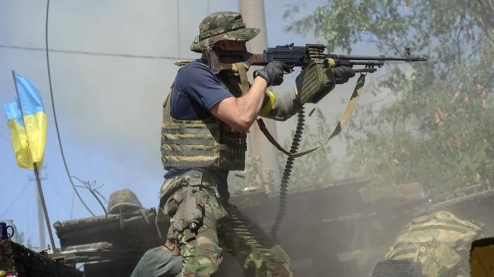 Fierce fighting starts again in Ukraine's east. One Ukrainian soldier is killed