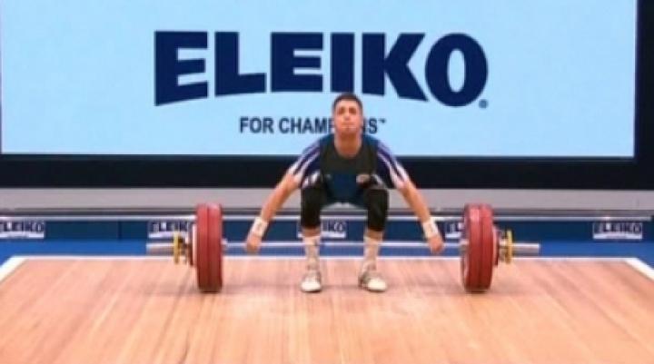 RIO 2016: Moldova weightlifter Sergiu Cechir starts competing