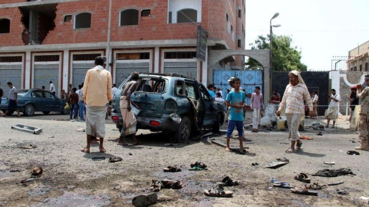 Suicide bomber kills 45 in Aden attack: medical charity