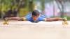 Six-year-old boy broke world record on limbo skating