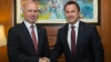 Bilateral relations between Moldova and Luxembourg, discussed by Pavel Filip and Xavier Bettel