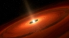 Astronomers of a Japanese University spot a star's dust cloud give birth to an icy world