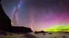 A strong solar storm continues to light up Earth, enchants people with amazing view