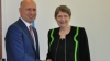 Moldova's objective of sustainable development, discussed by Pavel Filip and Helen Clark