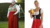 Germany adopts BURKIRNDL: Traditional low-cut Bavarian outfit is adapted for Muslims