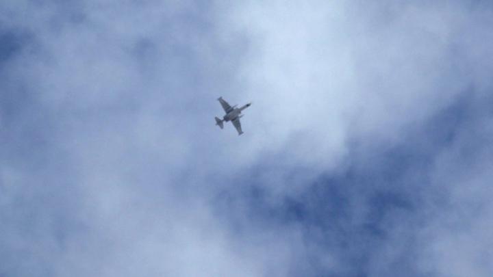 Syrian warplane crashes north of Damascus, causes unknown