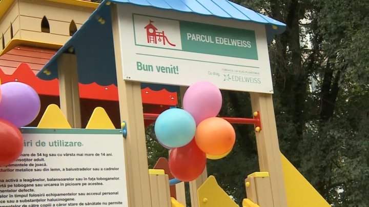 """""""Edelweiss Parks"""" project: New playgrounds for Leova and Comrat cities"""