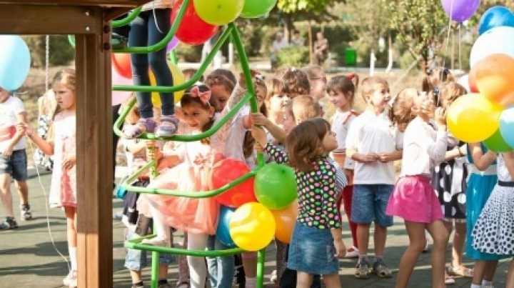 """Edelweiss Parks"" project: New playground in Telecentru sector in Capital"