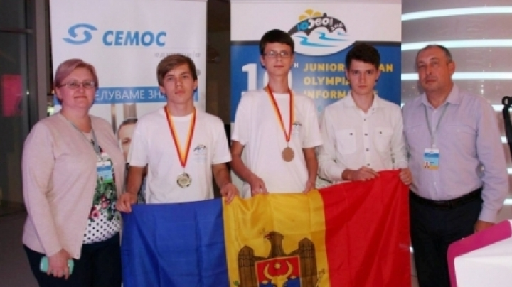 Praiseworthy! Moldova won two medals at Balkan Olympics for junior informatics