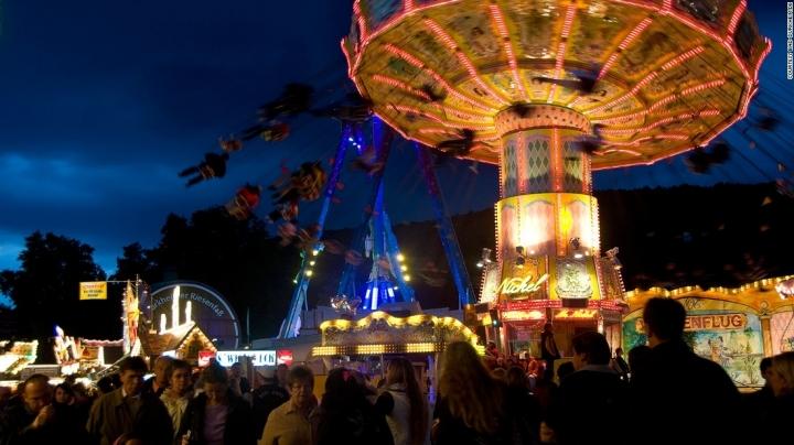 Germany's Oktoberfest, world's biggest wine festival
