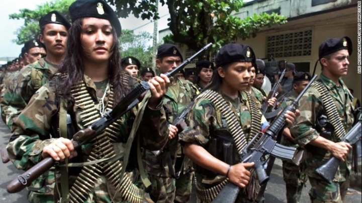 Colombia's rebels release 13 child soldiers after peace deal