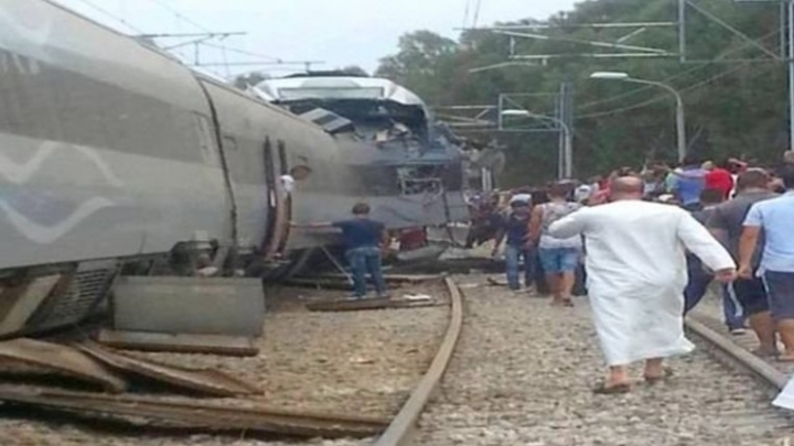 Train collision in Algeria injures at least 78 people