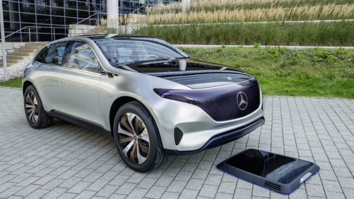 Mercedes-Benz looks to the future with Generation EQ EV concept