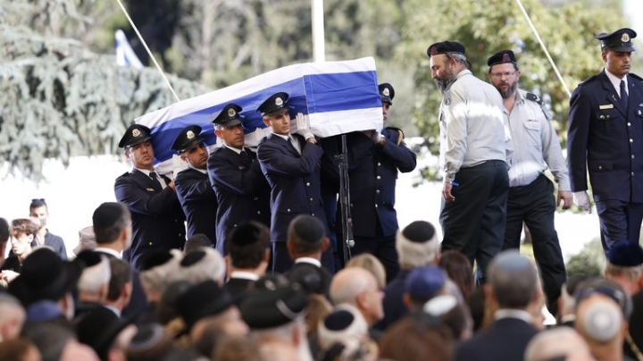 Shimon Peres funeral: World leaders hail late Israeli president