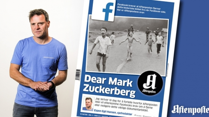 "Facebook restores censored nude 'napalm girl' photo due to ""historical importance"""