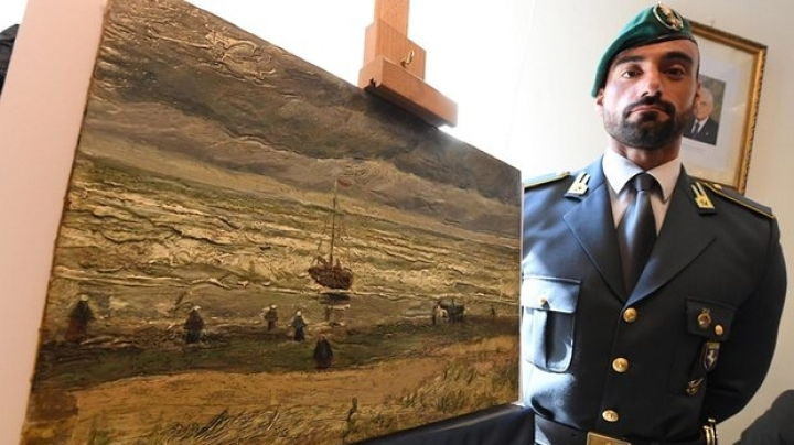 Italian police find stolen Van Gogh paintings 14 years after scandalous theft in Amsterdam museum
