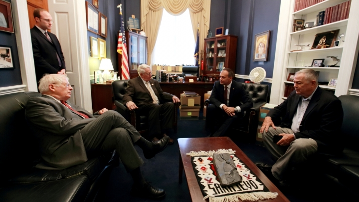 Parliament speaker Andrian Candu has an official visit at US Congress and Senate