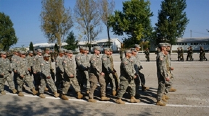Moldo-American-Romanian field exercises begin at Bulboaca