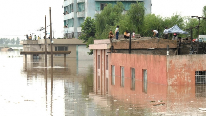 133 killed, 395 missing, 107,000 displaced in North Korean flooding