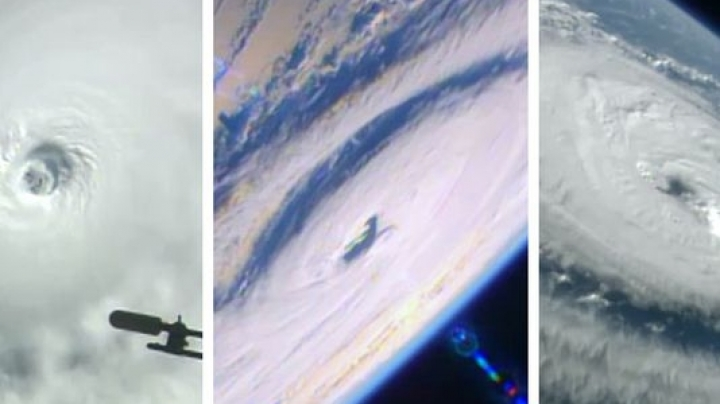NASA releases video showing three hurricanes from Pacific and Atlantic Oceans