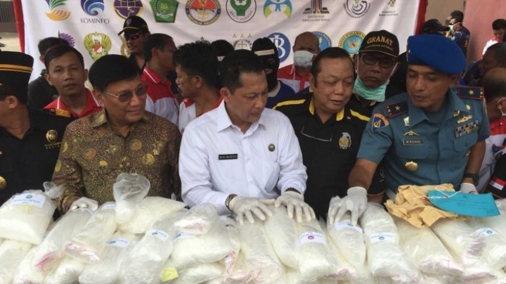 Indonesian anti-narcotics chief calls for Philipine-style war on drugs