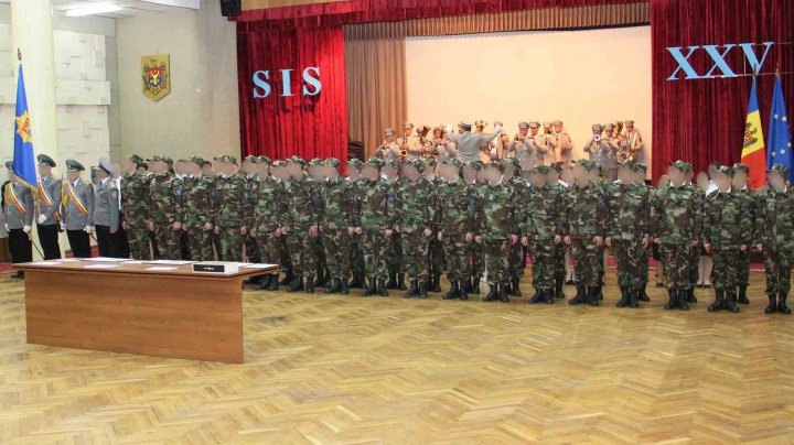 Students of National Institute of Information and Security took their oath