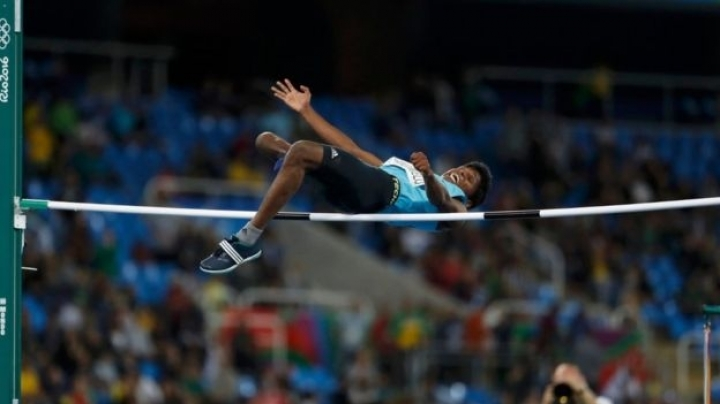 India's first Paralympic wins gold medal in high jump competition