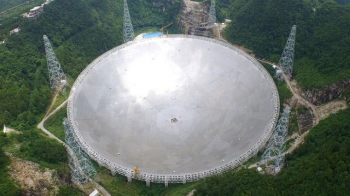 China's colossal radio telescope begins intensive testing phase
