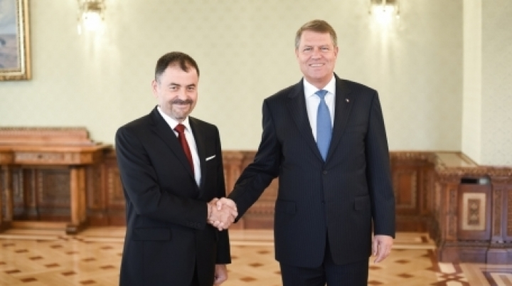 Moldova's Defense Minister received by Romanian President