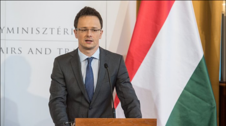 Minister of Foreign Affairs and Trade of Hungary will pay a working visit to Moldova