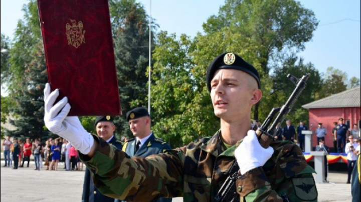 Future military officers handed in military oath